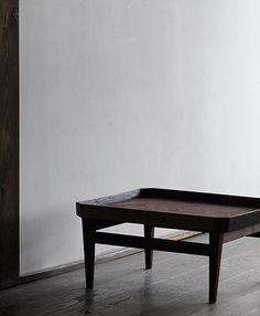 Analogue Life: 加藤良行展から Minimalist Furniture, Decorative Accessories, Dining Bench, Woodworking, Interior Design, Modern, Table, Interiors, Cream