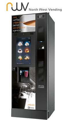 Get the ultimate tea and coffee vending machine for you office, the Evoca Canto Touch from North West Vending Fresh leaf tea and fresh speciality bean coffee, oh and delicious creamy chocolate Tea Coffee Vending Machine, Drink Vending Machines, Kitchen Definition, Coffee Machine Design, Vending Machine Business, Food Business Ideas, Food Kiosk, Minecraft Designs, Latte