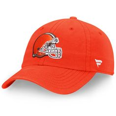 2856fe54287 Cleveland Browns NFL Pro Line by Fanatics Branded Fundamental Adjustable Hat  - Orange