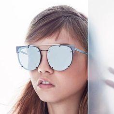 Molly Bair for Vera Wang Eyewear | Neale Frame in Silver