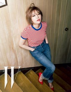 Brown Eyed Girls and Kim Won Joong - W Magazine May Issue '15