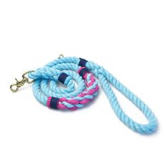 The best rope leashes for dogs!  Original rope leash design by Lasso <3