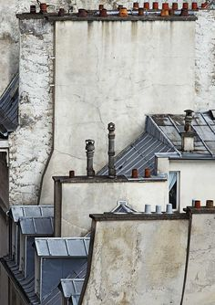 Paris Roof Top 'Paris Abstract' by Michael Wolf at Koch Gallery. Click above to see larger image. Wolf Photography, Modern Photography, Colour Photography, Street Photography, Michael Wolf, Metro Paris, World Press Photo, Paris Rooftops, Wolf Artwork
