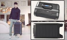 Is this the smartest suitcase?  Click to the article for the video.  FASCINATING ideas - and an incredible response on KickStarter.