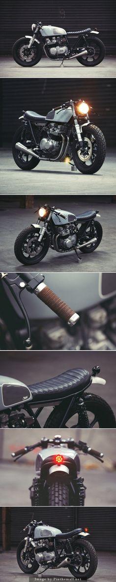 Très belle Kawasaki KZ650 qui a du chien ! Les amateurs ne devraient pas être indifférents à cette très belle #moto.