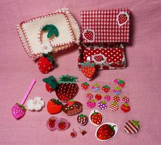 Strawberry matchbox -sent by CanineGirl, via Flickr