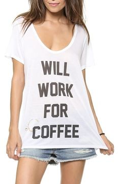Will work for coffee | The House of Beccaria~