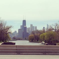Spring time in Chicago