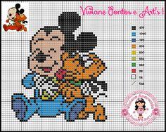 Viviane Pontos e Art's: Gráficos Turma Mickey Baby
