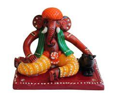 #Terracotta #Ganesha #homedecor   #handicrafts  shop now from #craftshopsindia