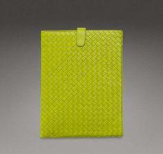 The Bottega Veneta iPad Cases are Luxurious in Design #quilted #fashion trendhunter.com