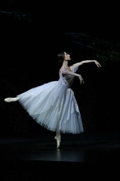 Ana Pavlovic in Giselle. Photo (c) National Theatre in Belgrade #ballet #ballerina