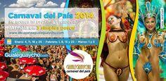 sabado de carnaval de quebec 2014 | el sabado 14 en la zona de los obeliscos en la costanera de ...