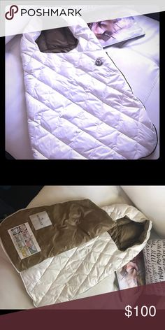 Moncler newborn winter sleeping bag The cutiest thing ever! I didnt use it ( my kid came earlier and then was too big for that))) very warm and great for upstyle your stroller. Moncler Accessories Bags