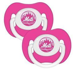 New York Mets MLB Pink Pacifiers