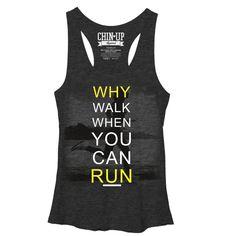 CHIN UP Women's - Runner T-Shirt