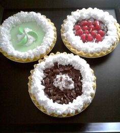 9 inch 5 wick full size Pies by MelissasCandleBakery on Etsy, $30