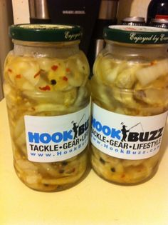 I recently speared a 40 pound White Sea Bass off the Coast of Southern California and I wanted to try something new. I went to the grocery store and bought . Pickled Herring Recipe, Herring Recipes, Pickled Eggs, Recipes With Fish And Shrimp, Shrimp Recipes, Fish Recipes, Pickeling Recipes, Pickled Sausage, Walleye Recipes