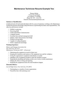 Building Maintenance Engineer Sample Resume Interesting 10 High School Academic Resume Exles Invoice Template Exles Student .