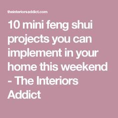 10 mini feng shui projects you can implement in your home this. Informations About 10 mini feng sh Feng Shui Cures, Feng Shui Tips, Fung Shui Home, Feng Shui Mirrors, Fen Shui, Feng Shui Principles, Feng Shui Bedroom, Meditation Space, Apartment Interior
