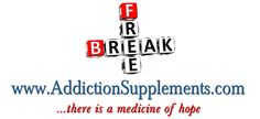 Formulated supplements for nutritional support in addiction recovery, detoxification, mood regulation, focus improvement, and general health and wellness.