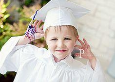 Kindergarden graduation/5 yr photo shot idea
