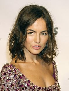 camille belle hair colour