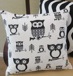 Youre a Hoot Owl Decorative Throw Pillow Cover
