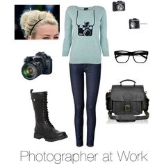 Photographer at Work by mercyray97 on Polyvore