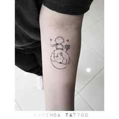 Little Prince on the forearm http://instagram.com/bahadircemtattoo #littleprince #littleprincetattoo #küçükprens #kucukprens #littleprincedesign #dövme #smalltattoo #karincatattoo