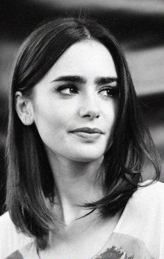 Lily Collins' thick brows.