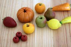 marzipan fruit and veg 3 by yvonnelin1, via Flickr