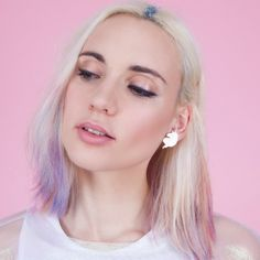 Boucles d'oreilles Licorne