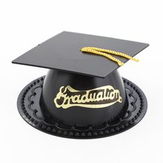 Graduation Hat Cake Toppers (24 toppers) (($))