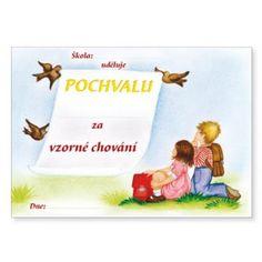 Pochvala za vzorné chování Winnie The Pooh, Disney Characters, Fictional Characters, Paper Board, Winnie The Pooh Ears, Fantasy Characters, Pooh Bear