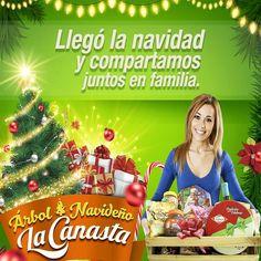 Llego #Navidad y #SupermercadoslaCanasta te desea que compartas en #Familia de esta fecha tan especial #Canasta40años #Sogamoso #Duitama