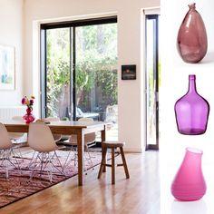 """Mention spéciale au vase rose bien peps : le """"topping"""" (même pas bling bling) parfait"""