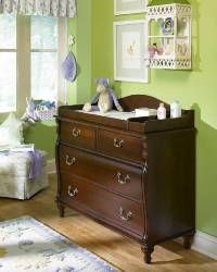 Stanley Young America Madison Changing Station On Single Dresser