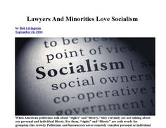 Lawyers And Minorities Love Socialism INFOWARS.COM  BECAUSE THERE'S A WAR ON FOR YOUR MIND