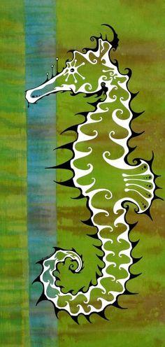 Canvas print for beach themed nursery
