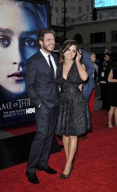 Jenna Coleman and Richard Madden