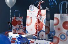 Mooie patronen en leuke verpakkingen, van cadeau- tot zelfklevend papier. Papierwaren MYTISK #IKEABE  Beautiful patterns and pretty packaging, from gift wrapping paper to adhesive paper. Stationary MYTISK #IKEABE