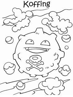 Disegni da colorare Pokemon 40