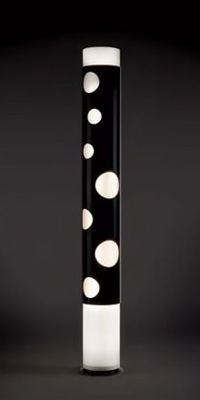 Lepere - Bolle Floor Lamp by Joe Colombo