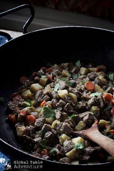 A Somali recipe for Beef Suqaar
