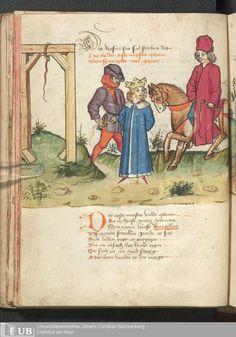 36 [16v] - Ms. germ. qu. 12 - Die sieben weisen Meister - Page - Mittelalterliche Handschriften - Digitale Sammlungen