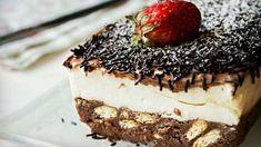 Greek Recipes, Tiramisu, Cheesecake, Deserts, Dessert Recipes, Cooking Recipes, Sweets, Chocolate, Cream
