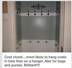 Coat Closet Re-do