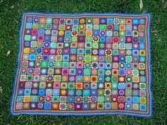 Ravelry: mandamoo's Summer Garden Kaleidoscope
