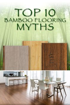 Looking for flooring ideas? Discover the benefits of bamboo flooring! Great alternative to hardwood floors // Bamboo Flooring Facts
